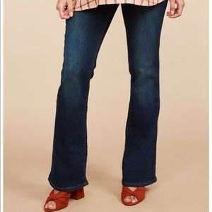 Motherhood Maternity Jeans With Bellyband Small